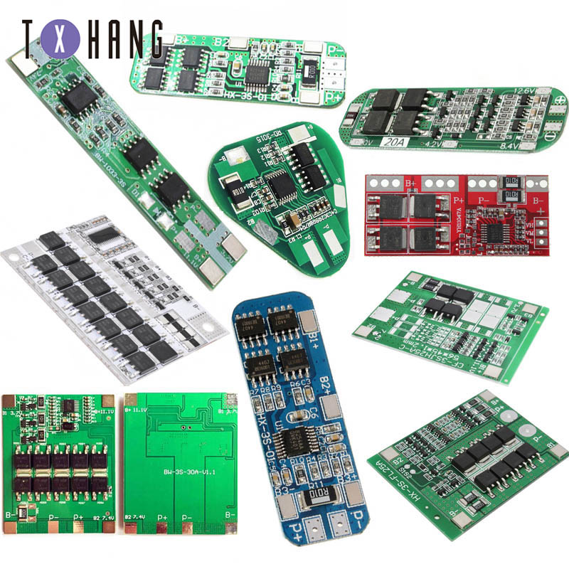 3S 25A protection PCB board W//balance BMS for 18650 Li-ion lithium battery /_H