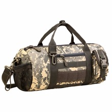Protector Plus Tactical Bucket Bag Sport Duffle MOLLE Hnadbag Gear Military Travel Carry On Shoulder Bag Small Valise