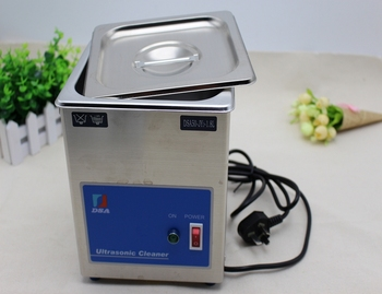 1.8L Ultrasonic Cleaner DS200 220V Single Head for Jewelry Cleaning with Heater Timer Stainless Steel Ultrasonic Clean Machine