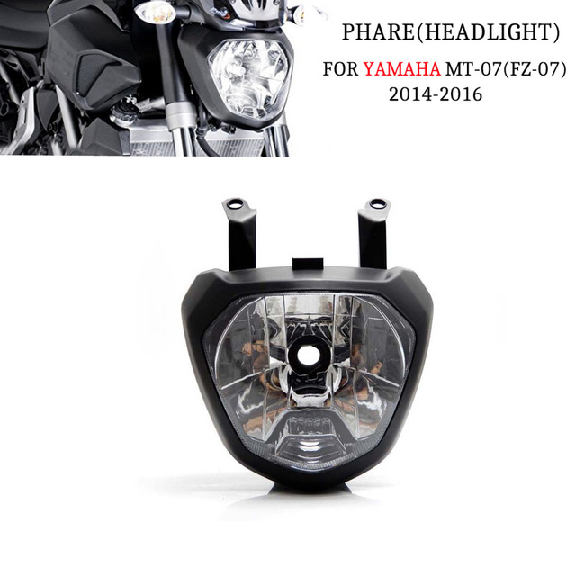 KEMiMOTO For Yamaha MT 07 MT 07 2014 FZ 07 MT07 2014 2016 Front Head
