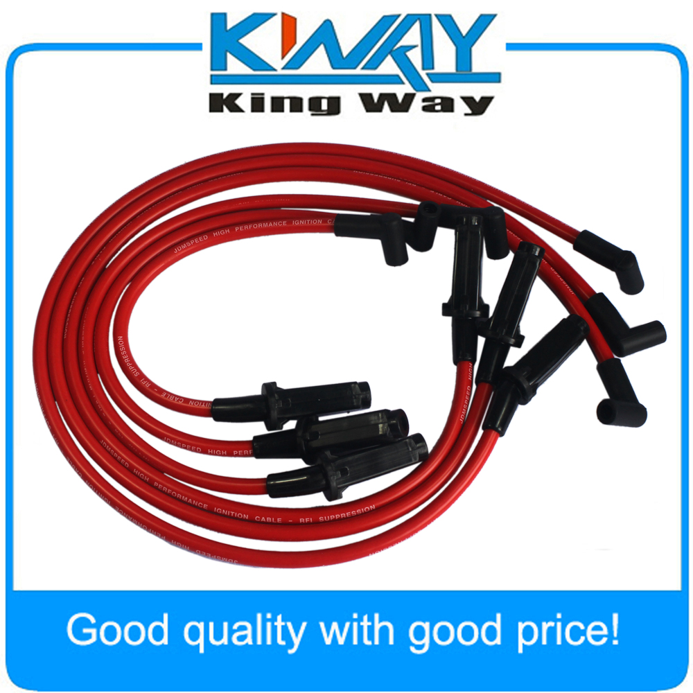 medium resolution of jdmspeed performance red 10 5mm ignition spark plug wires fits for gm 3800 series ii l67 in ignition cable kit from automobiles motorcycles on