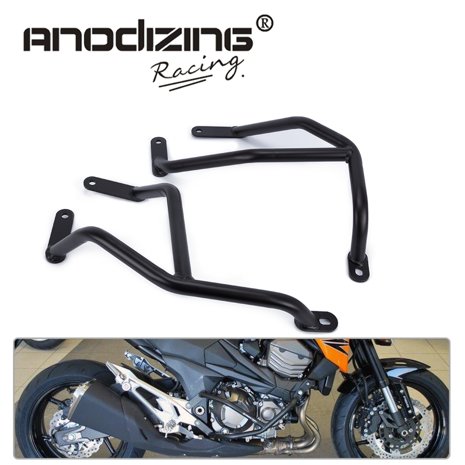 Motorcycle Accessories For KAWASAKI Z800 2013-2016 Engine Protetive Guard Crash Bar Protector high quality for bmw r1200gs 2013 2014 2015 motorcycle upper engine guard highway crash bar protector silver