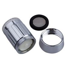 цены 3-color Water Glow LED Faucet Light Temperature Sensor