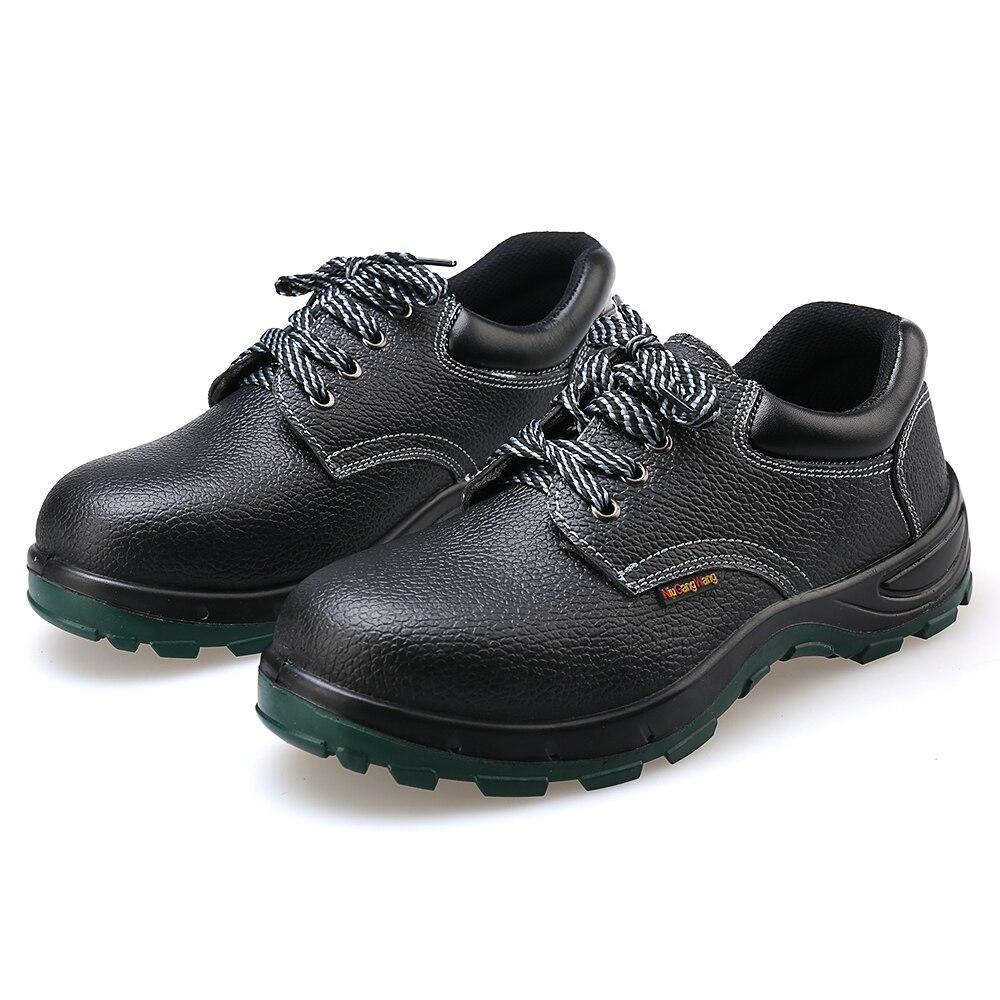 AC11009 Industrial Dos Homens Malha Respirável sapatos de Segurança com Biqueira de Aço Sapatos de Trabalho Anti-quebra Dentro Lace-Up Sapatos de Proteção Acecare