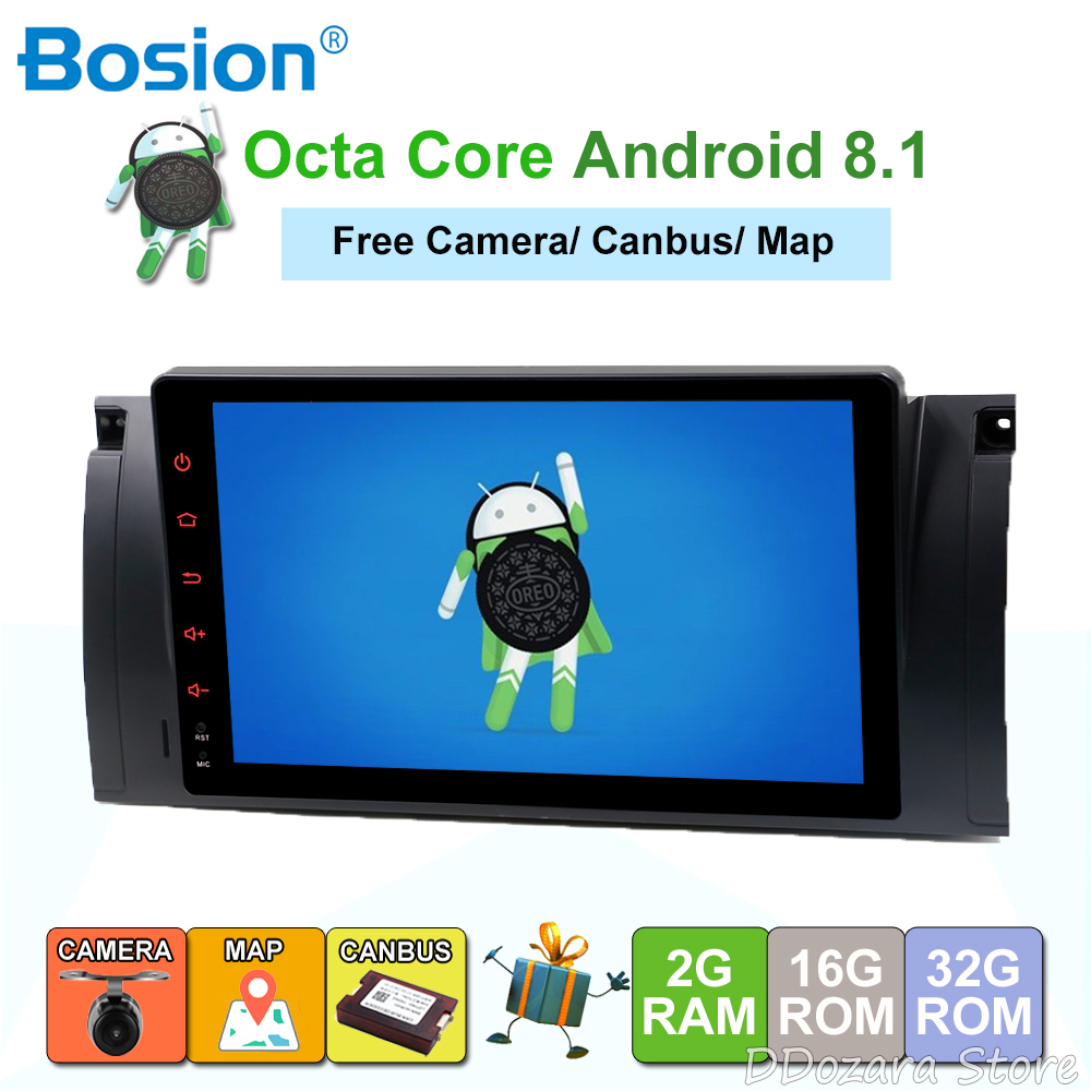 For bmw e39 android 8.1 radio gps navigation multimedia navigation IPS screen 8 cores with bluetooth SWC Camera MapFor bmw e39 android 8.1 radio gps navigation multimedia navigation IPS screen 8 cores with bluetooth SWC Camera Map