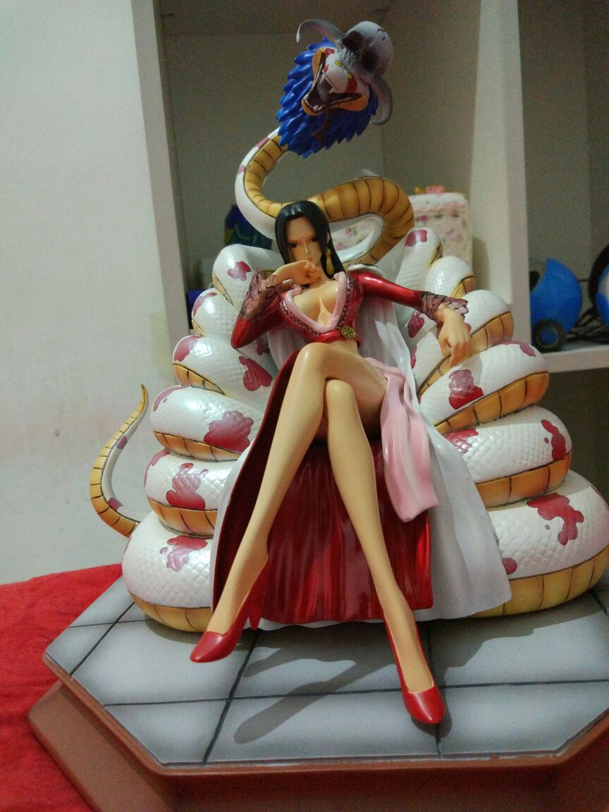 MODEL FANS IN-STOCK copy version One Piece 25cm Boa Hancock Sitting position gk resin toy Figure for Collection free shipping new anime one piece boa hancock pvc action figure hancock fighting style figure model toy 15cm