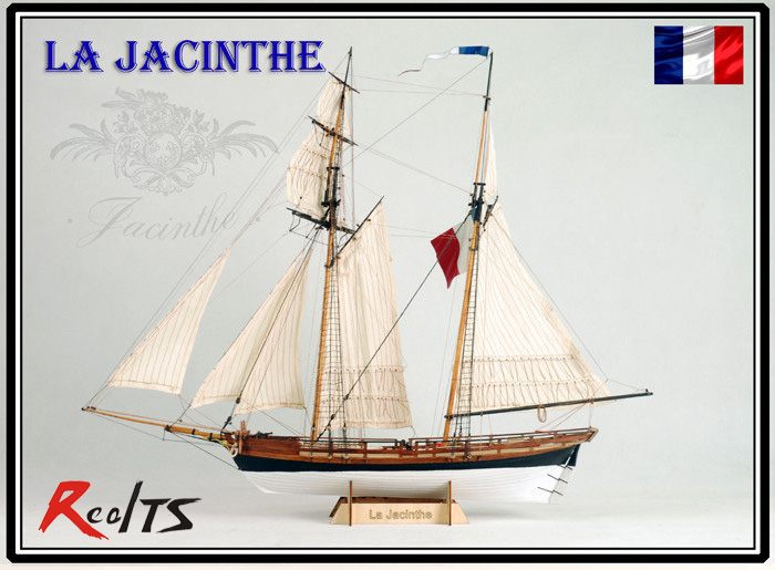 RealTS Classic The French armed merchant Ship Scale 1/65 La Jacinthe ship wood boat model kit shakespeare w the merchant of venice книга для чтения
