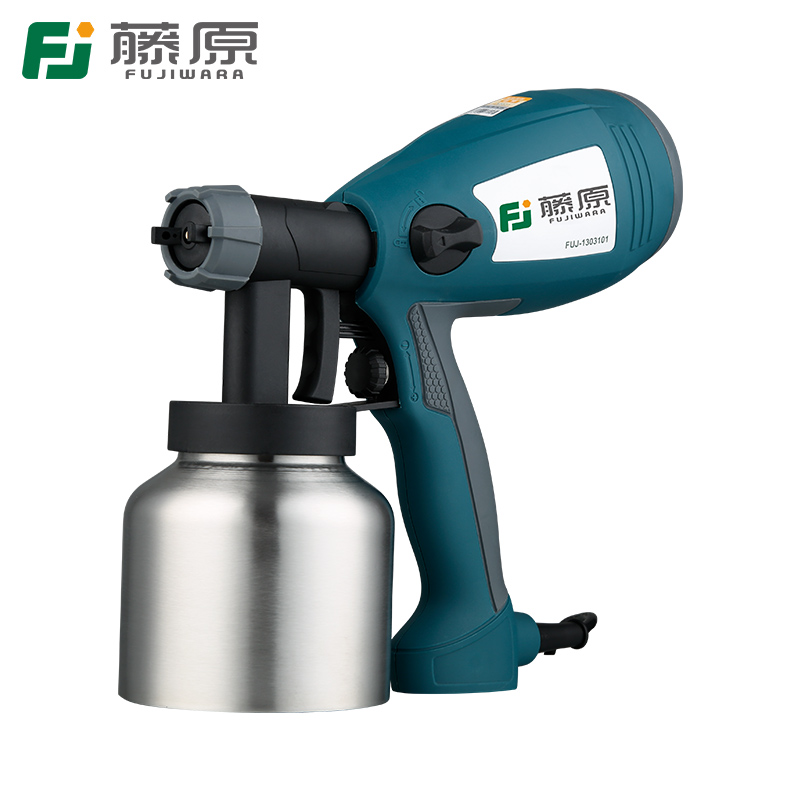 FUJIWARA Electric Spray Gun Latex Paint Airbrush Paint Spray Gun Paint Painting Tools High Atomization 1.8mm/2.5mm 800w electric painter spray gun 900ml latex paint sprayer 1 8m spray hose hvlp paint sprayers house painting machine power tools