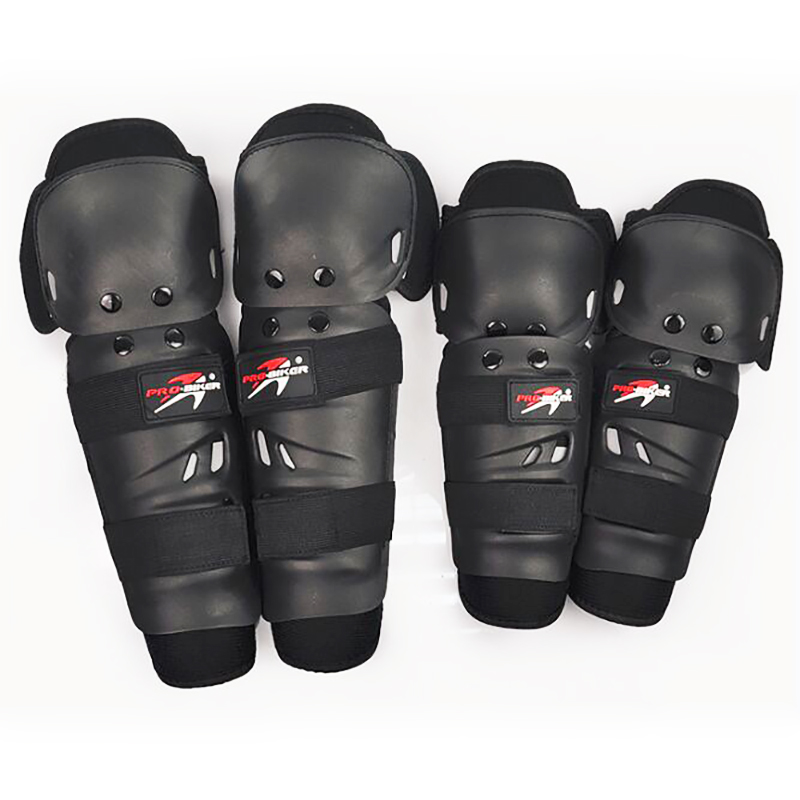 Pro Biker Motorcycle Knee Pads Elbow Pads Racing Protectors Off road Adjustable Knee pads Safety Protective