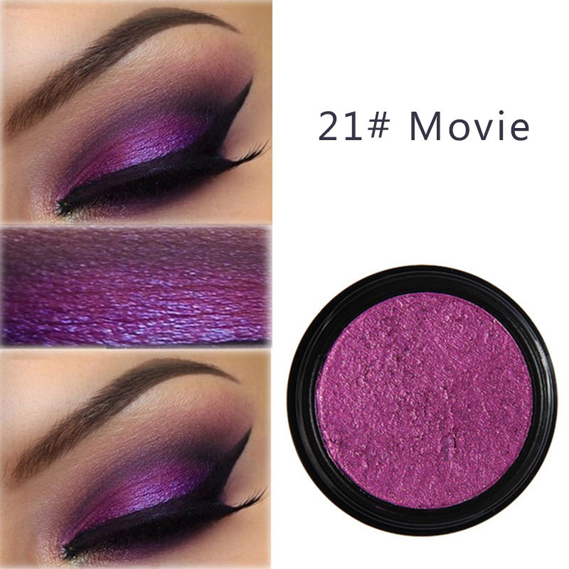 HTB1 ZvjeL1TBuNjy0Fjq6yjyXXa3 PHOERA Eyeshadow Eye Glitter Shimmer 24 Clors Natural Matte Palette Pigment Eyes Make Up Cosmetic festival face jewels TSLM1