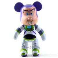 25CM Buzz Lightyear Bearbrick Be@rbrick Action Figure 400% Toy Story Buzz Model toys for kids Birthday Gift