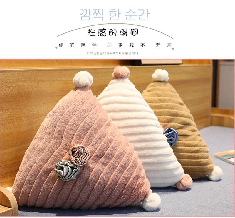 Almofadas de pelúcia
