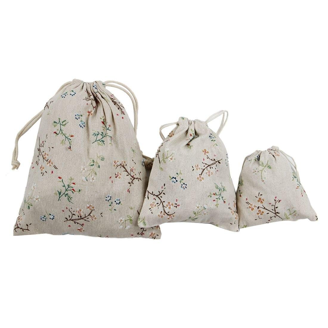 3 шт. мода складной расслоение рот подарок мешок Ян веточку с цветами 1 #