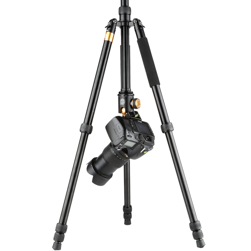 Moveski Q999B 163CM High Professional Portable Photography Tripod Monopod with 360 Pan Ball Head Quick for