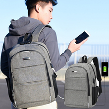 Anti-Theft Laptop Backpack USB Charger Woman Bagpack Men Large Capacity School Business Backpacks Travel Bags Unisex Backbag Red original xiaomi backpack mi minimalist urban life style backpacks for school business travel laptop bags large capacity