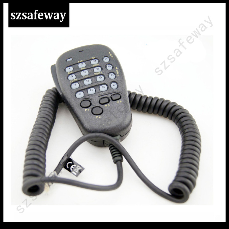 MH-48 Remote Speaker Mic Microphone For Yeasu Mobile Radio Car Radio FT-2800M, FT-7100M, FT-7800R Free Shipping
