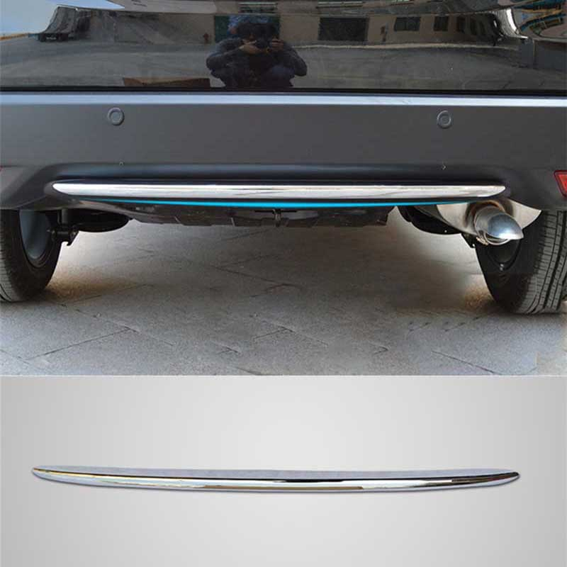 CAR STYLING CHROME REAR HOOD LAMP LINING COVER MOLDING <font><b>TRIM</b></font> BUMPER STYLING BEZEL GARNISH FOR <font><b>HONDA</b></font> <font><b>HRV</b></font> VEZEL HR-V 2014 2015 2016 image
