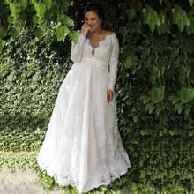 Женское свадебное платье it's yiiya белое кружевное с v