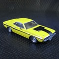 GreenLight 1:43 Dodge Challenger amarillo Fast & Furious boutique MAYOR Modelo de aleación de juguetes de coches para niños juguetes para niños freeshipping