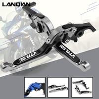 CNC Motorcycle Accessories Adjustable Folding Extendable Brake Clutch Lever For Honda VTR 1000 FV/FW/FX/FIRESTORM 1997 1998 1999