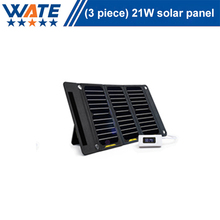 21W solar charger, liquid crystal display, monocrystalline silicon charging board, mobile phone camera, mobile power supply