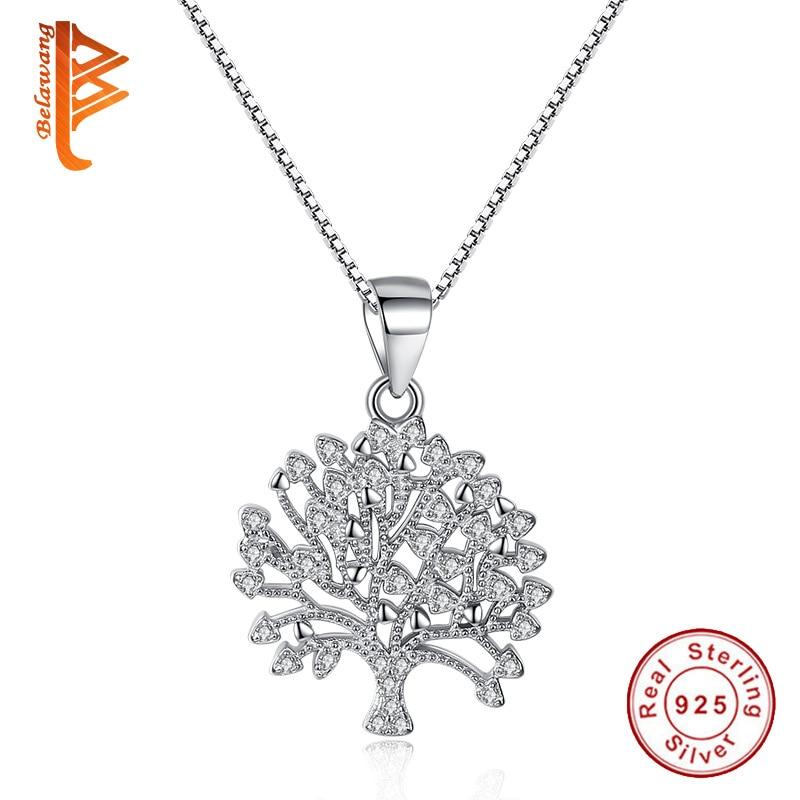 BELAWANG 2017 New Fashion Jewelry Tree Of Life Necklace ...