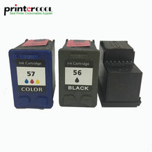 einkshop 56 57 Refilleded Ink Cartridge Replacement for HP Deskjet 5150 450CI 450 5550 5650 PSC 2110 1315 1350 Printer