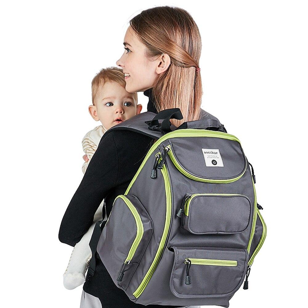2018 nowych moda dziecko dziecko torby na pieluchy plecak wodoodporny - Pieluchy i Trenowanie toalety - Zdjęcie 1