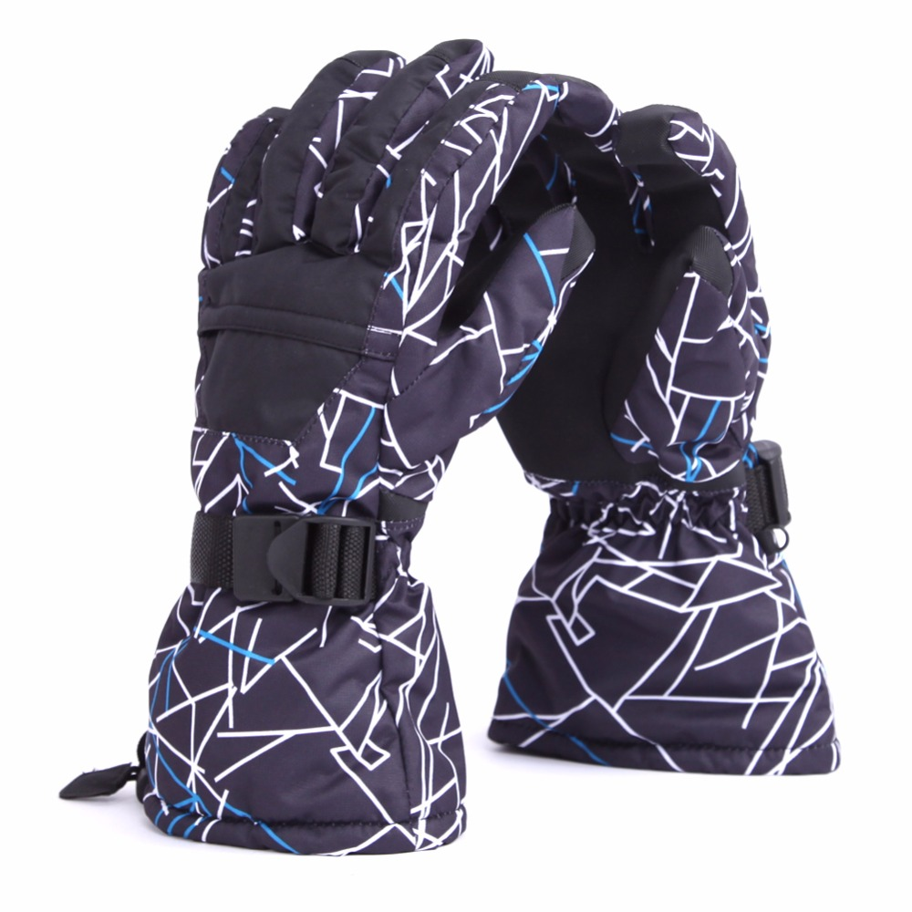 Outdoor Windproof Ski Gloves Waterproof Winter Keep Warm Snowboarding Glove Riding Motorcycle Gloves Breathable Skiing Glove
