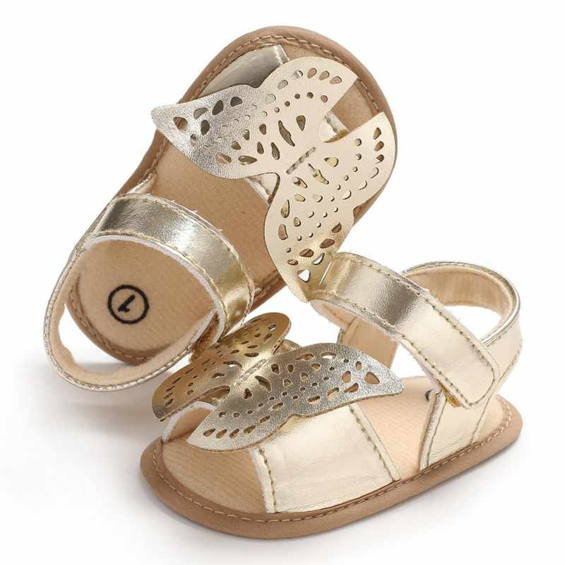 Zapatos para niños, bebés, niños, niños, Zapatos antideslizantes de lona y mariposa para niños