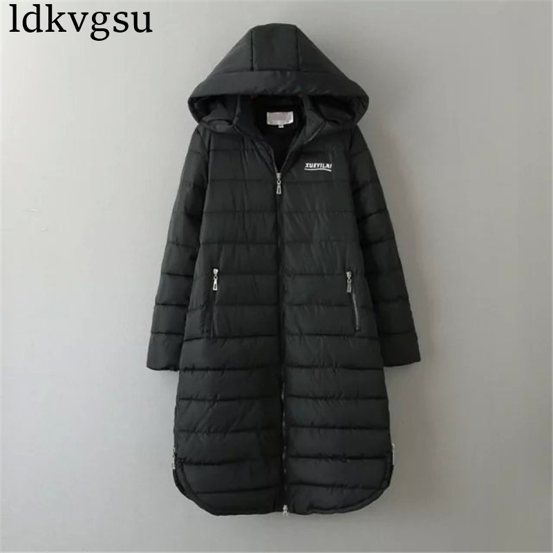 2018 Winter Jacket Women Winter Coat Women Plus Size 6XL Long Parka Cotton-Padded Down C ...
