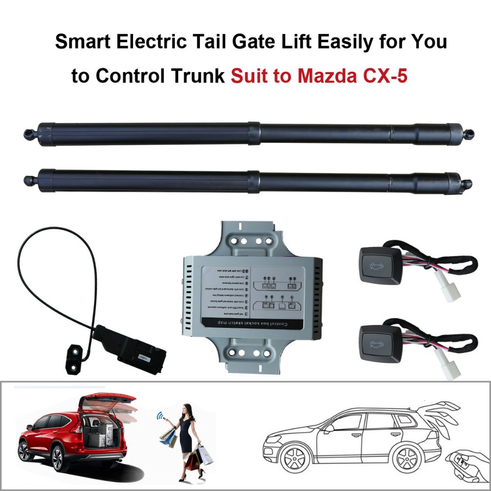 Smart Auto Electric Tail Gate Lift for Mazda CX 5 CX5 Remote Control Set Height Avoid