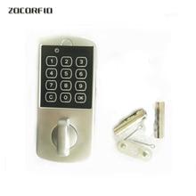 Touch Keypad Password Cabinet Coded Locker Key Access Lock Electronic Security Door Locker Zinc Alloy Digital Coded Locker
