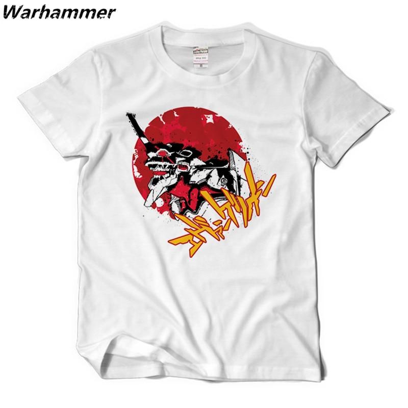 Eva Neon Genesis Evangelion T Shirt Men Anime Shirt