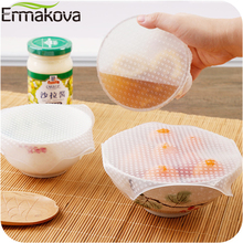 Stretch-Lid-Cover Sealer-Wrap Microwave Food-Saver Silicone ERMAKOVA Keeping-Film