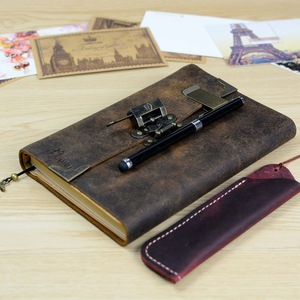 Image 2 - Vintage Antique Leather Journal Handmade Buffalo Travel Diary   Classic Soft Leather Bound Writing Notebook