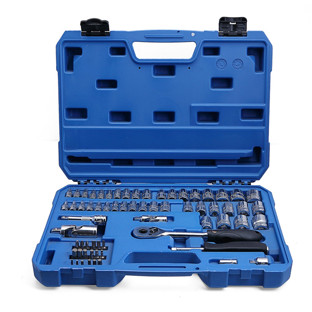 free shipping valianto hex allen allen bit socket set car repair tool tool kit 65 pcs 6 3. Black Bedroom Furniture Sets. Home Design Ideas