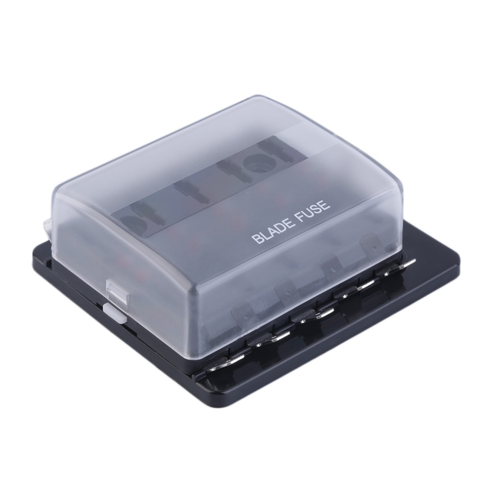hight resolution of 10 way circuit car automotive atc ato fuse box for middle size blade free shipping