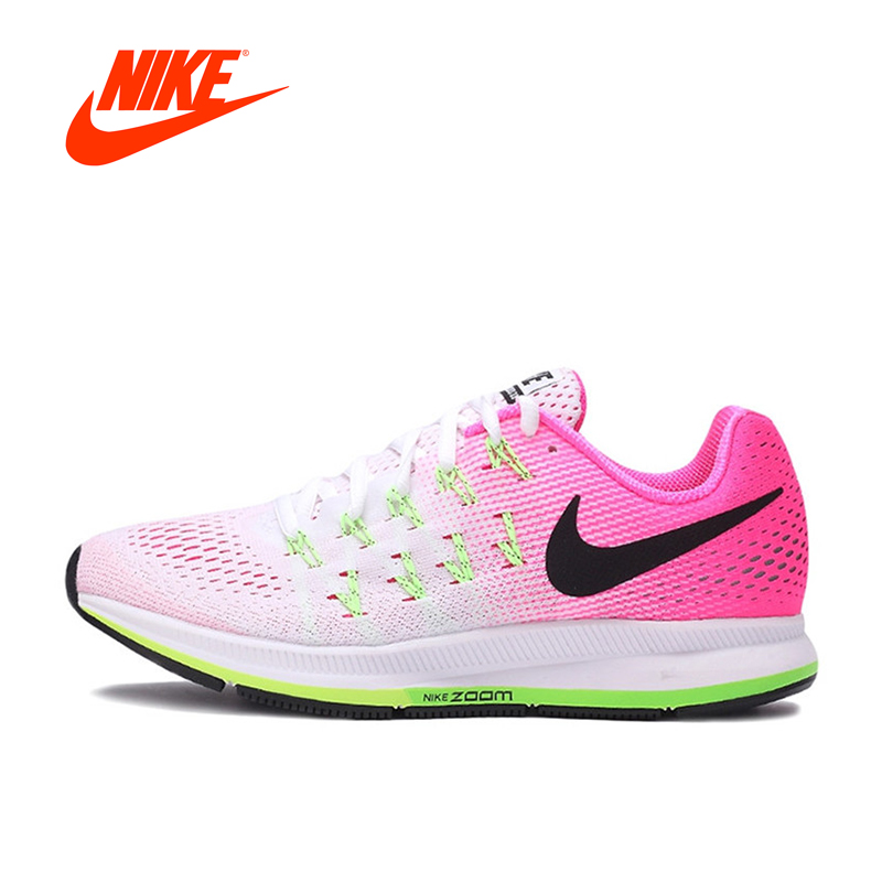 Original NIKE Breathable AIR ZOOM PEGASUS Women's Running Shoes Sneakers