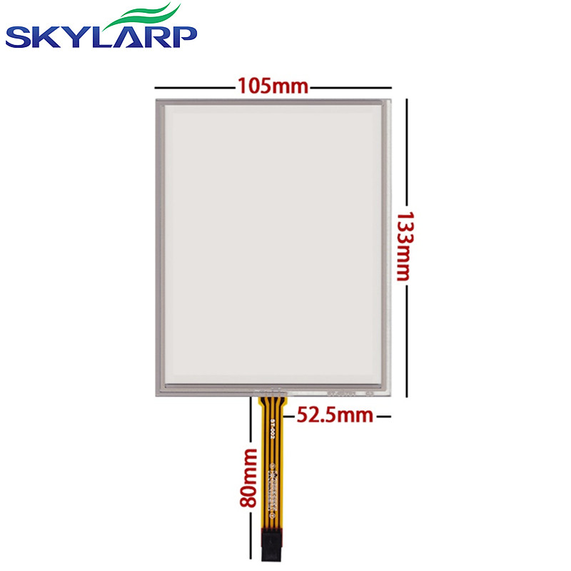 skylarpu 5.7inch 4 wire Touchscreen for Siemens TP177A TP177B 6AV6 133mm*105mm Resistance Touch panel Industrial Wide screen