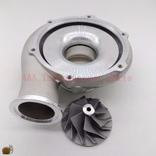 HX40 Turbo Compressor wheel + housing fitting by nut suit wheel size 60x86 supplier AAA Turbocharger Parts