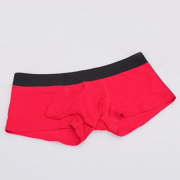 Men Boxers Cotton Sexy Gay Underwear Boxer Shorts XXXL 2018 New Hombres Elephant Mens Novelty Underwear Mens Bulge Pouch Boxers