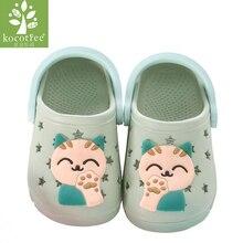 Kocotree Cat Baby Beach Slipper Children Sandals Wholeas EVA Anti-slip Girls Boy