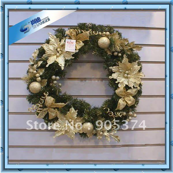 2012 hot sale willow christmas wreaths for front door decoration christmas artificial flower. Black Bedroom Furniture Sets. Home Design Ideas