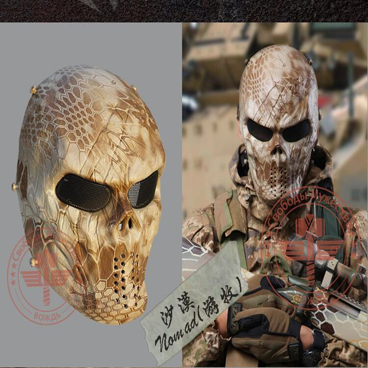 Terminator mask Full Face Airsoft Mask For halloween Survival CS Wargame Field game Cosplay Terminator Movie Military Army mask