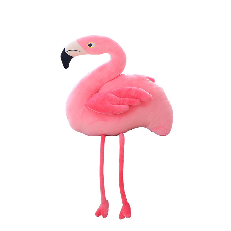 Simulation Flamingo Pillow  Plush Toys Pillow  Stuffed  Creative Cushion Gift Toy Collection Toy Home Shop Decor