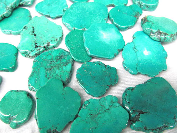 15-80mm 100pcs turquoise beads cabochons freeform slab blue green jewelry beads -have no drilled15-80mm 100pcs turquoise beads cabochons freeform slab blue green jewelry beads -have no drilled