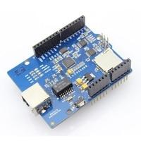 Elecrow W5200 Ethernet Shield para Arduino UNO R3 Mega 2560 R3 Internet Inteligente Kit de Decoração Para Casa DIY