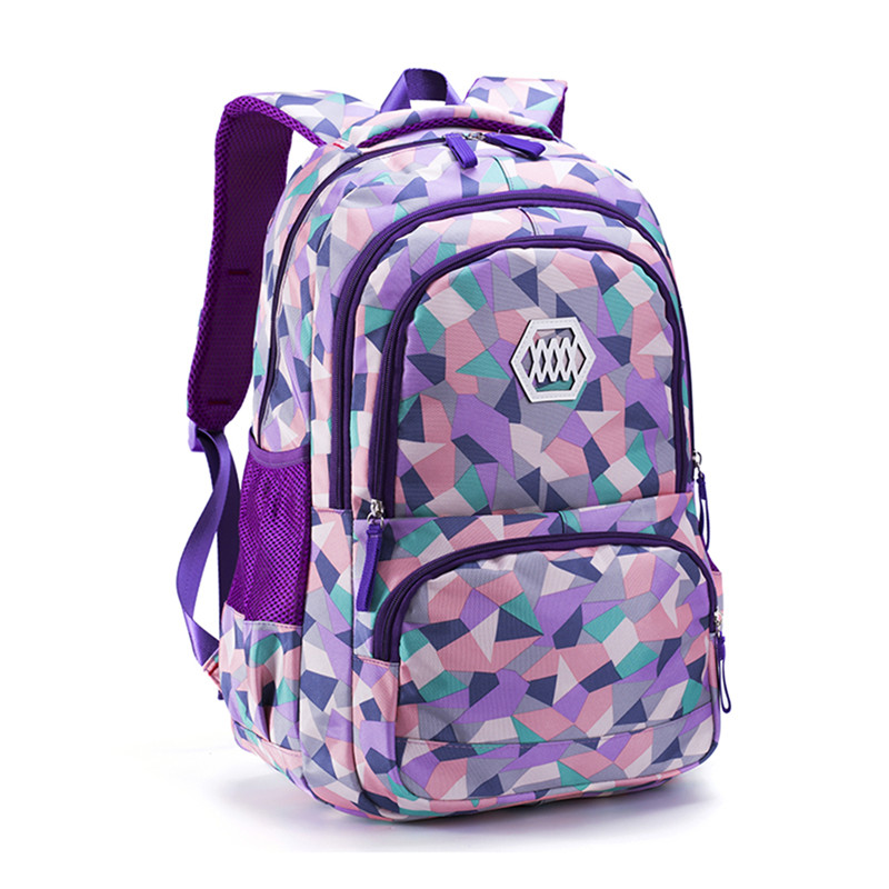 eff906d0be Fashion Girl School Bag Waterproof light Weight Girls Backpack bags  printing backpack child-in School Bags from Luggage   Bags on  Aliexpress.com