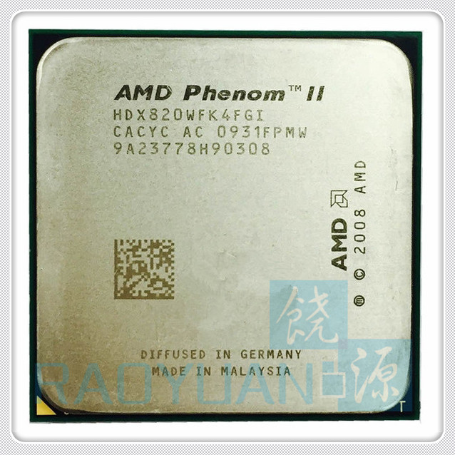 AMD Phenom II X4 820 2.8GHz/4MB /4 Cores Quad-Core DeskTop CPU HDX820WFK4FGI Socket AM3